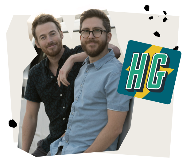 Jake and Amir Comedy Duo