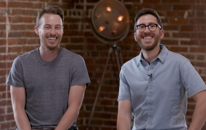 Video still of Jake and Amir