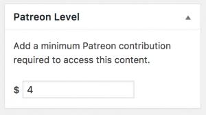 GitHub - Patreon/patreon-wordpress